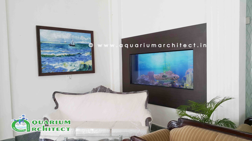 Customised aquarium